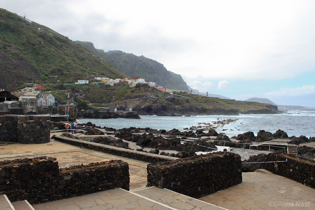 Tenerife for a short holiday tips about trips for Piscinas naturales de alcala tenerife